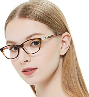 ee1de705b24f OCCI CHIARI Women Casual Eyewear Frames Non-Prescription Clear Lenses  eyeglasses