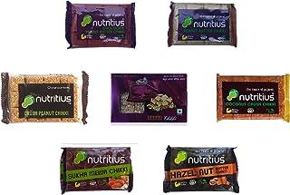 Nutritius Chikki Set Family Pack, Pack of 7