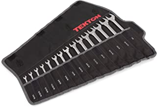 TEKTON Combination Wrench Set, 15-Piece (1/4-1 in.) - Pouch   WRN03293