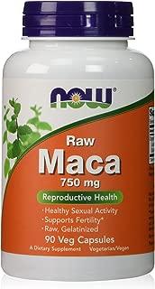 Now Foods Maca 750 milligrams - 90 vcaps (Pack of 2)