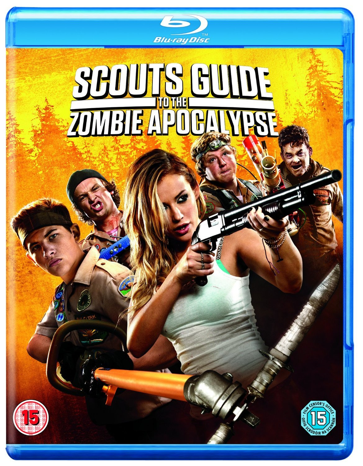 Scouts Guide To The Limited time Max 53% OFF sale Blu-ray Zombie Apocalypse