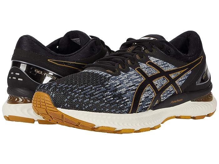 ASICS  GEL-Nimbus 22 (Black/Black 2) Mens Running Shoes