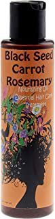 Natural Black Seed and Carrot Rosemary Hair Growth Oil Formula 5oz. By SweetSunnah