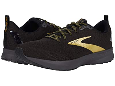 Brooks Revel 4 (Black/Gold) Men