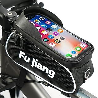 Fu Jiang Bike Phone Mount Bag Bicycle Front Frame Top...
