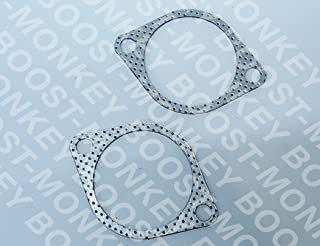 Boost-Monkey Ultimate N54 Down Pipe Hardware install kit Bolts (Gaskets only)