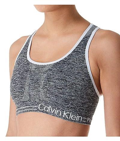 Calvin Klein Performance Moisture Wicking Medium Impact Reversible Seamless Sports Bra