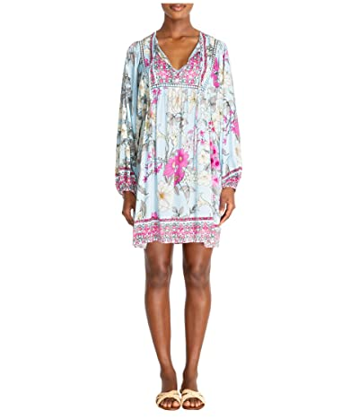 Johnny Was Belladonna Long Sleeve Cover-Up (Multi) Women