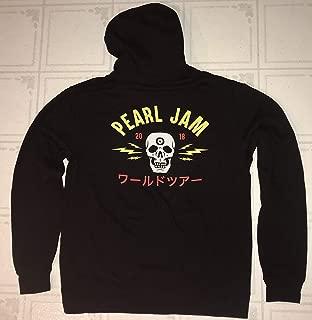 Pearl Jam sweatshirt hoodie large 2018 tour the home shows