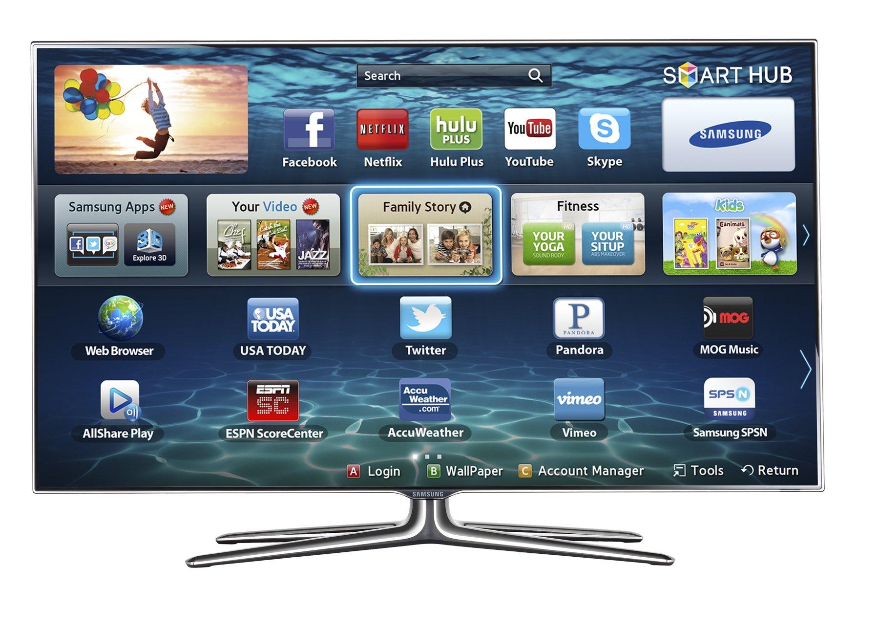 Samsung UN55ES7100F - Televisor (139,7 cm (55