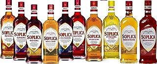 10 Flaschen Soplica Mix 30% vol. Alk. a 0,5L 6 Sorten