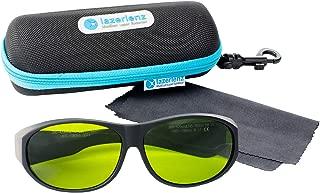 Lazerlenz Premium Laser Goggles Multi Wavelength 755 & 808 & 1064 Fit-Over Frame Eyewear for Medical Doctor and Laser Technician