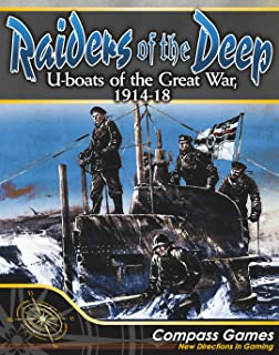 CPS: Raiders of the Deep, U-boats of the Great War, 1914-18, Solitaire Boardgame