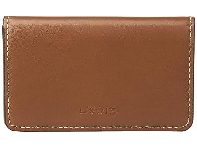 Lodis Accessories Audrey RFID Mini Card Case (Sequoia/Papaya) Credit card Wallet