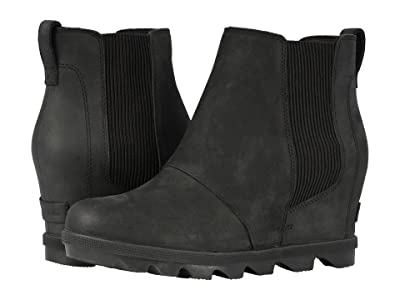 SOREL Joan of Arctic Wedge II Chelsea (Black) Women