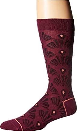Oxeye Abstract Pattern Socks
