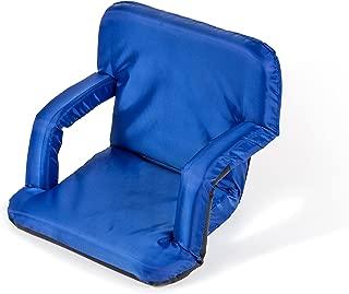 Trademark Innovations Portable Multiuse Adjustable Recliner Stadium Seat (Blue)