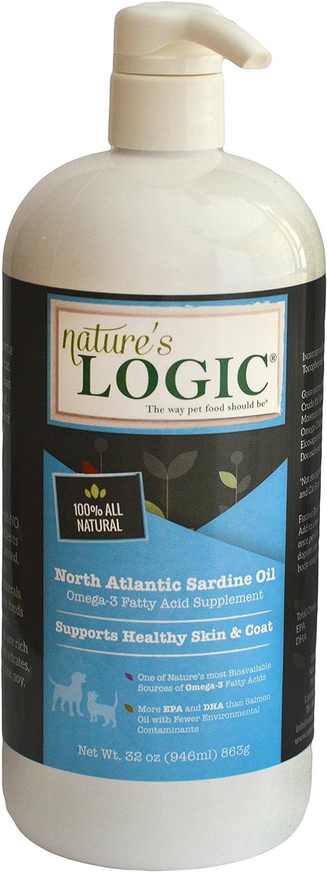 Nature's Logic Sardine Oil Supplement for Pets, 16 oz, 1 Pack
