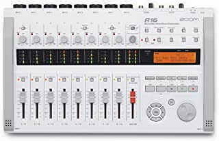 Zoom R16 Digital Multi-Track Recorder, Audio Interface and Control Surface with 1 Year Free Extended Warranty