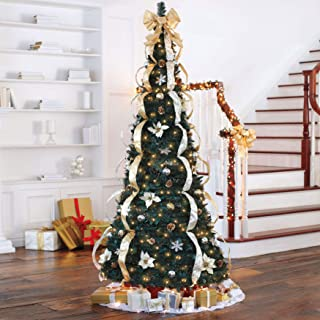 Best holiday time pre lit tinsel tree Reviews