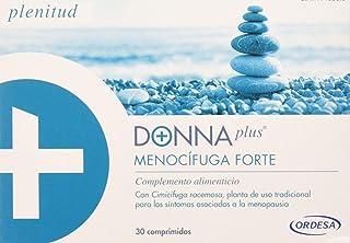 DonnaPlus Menocífuga Forte. 30 comprimidos. complemente alimentcio para la mujer en la menopausia. Cimicifuga racemosa. melisa y vitaminas K2. D3. B6. B9 y B12. 1 comprimido al día.