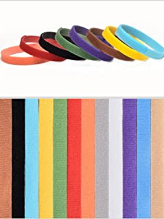 1 Set (12 Pcs/Set) Colorful Adjustable Identification Nylon Necklace Dog Puppy Pet Cat Collar Soft Elastic Bow Bell Tag Great Popular Small Extra Large Wide Safety Training Camo Kitten Dogs Collars