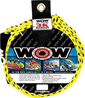 WOW Sports World of Watersports Tow Rope (3 Person), 2 Person