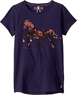 Navy Sequin Horse