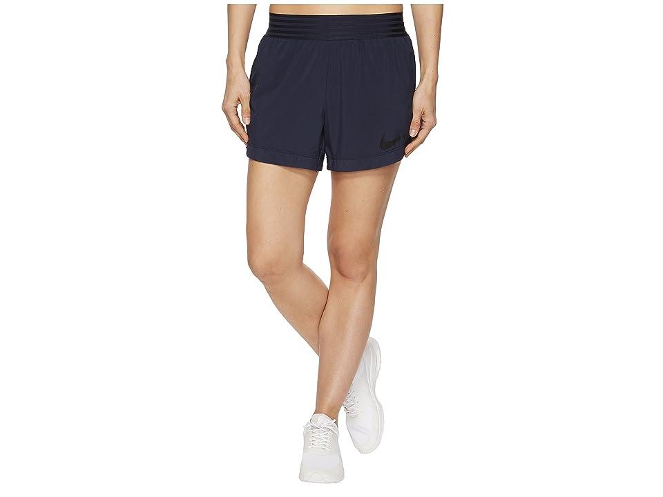 Nike Flex Training Short (Obsidian/White) Women