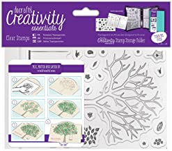 DOCrafts DCE907130 Creativity Essentials A6 Clear Stamps, Build A Tree