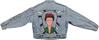 Hand Painted Frida Denim Jacket