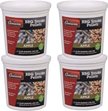 Camerons Smoking Wood Pellets (Apple)- Kiln Dried BBQ Pellets- 100% All Natural Barbecue Smoker Fuel- Value Pack 4 Pints