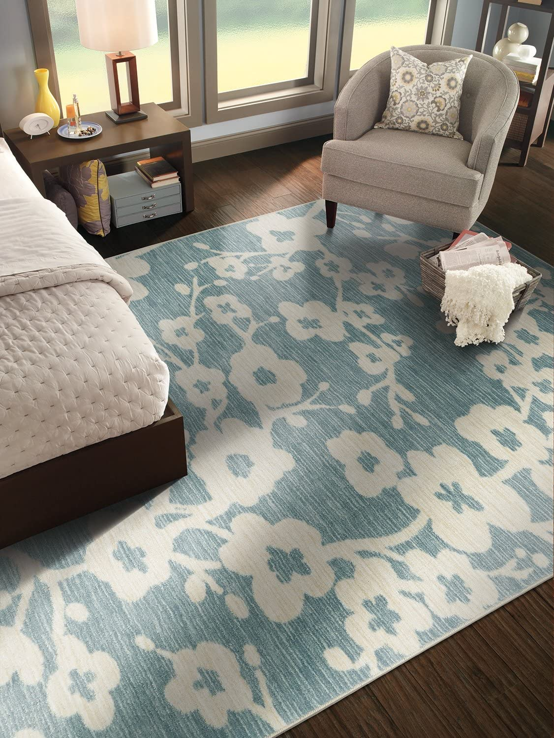 Mohawk OFFer Home Aurora Burbank Wholesale Blossom 7'6x Rug Floral Area Printed