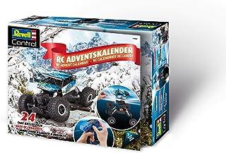 Revell 01026 RC adventskalender, 4WD offroad-Crawler, met GHz-afstandsbediening en batterijen, 27,5 cm in 24 dagen om zelf...