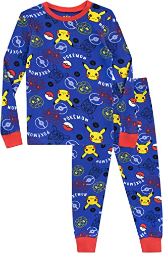 Pokemon Ensemble De Pyjamas Pikachu Garçon Bien Ajusté