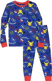 Pokémon Ensemble De Pyjamas Pikachu Garçon Bien Ajusté