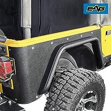 EAG Rear Fender Flares Fit for Corner Guards Off Road Armor 3 inch Fit for 97-06 Jeep Wrangler TJ