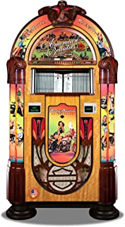 Rock-Ola Bubbler CD American Beauties Jukebox with Bluetooth - Holds 100 CDs