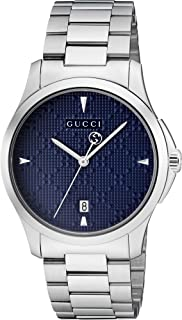 1aa31bfbe080 Gucci Dress Watch For Unisex Analog Stainless Steel - Ya1264025,