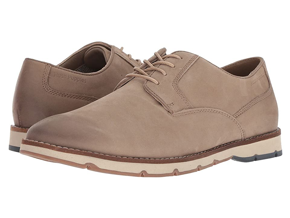 Hush Puppies Hayes PT Oxford (Taupe Nubuck) Men