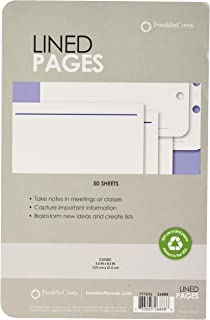 Franklin Covey Classic Lined Pages, Classic Size 5.5 inches x 8.5 inches