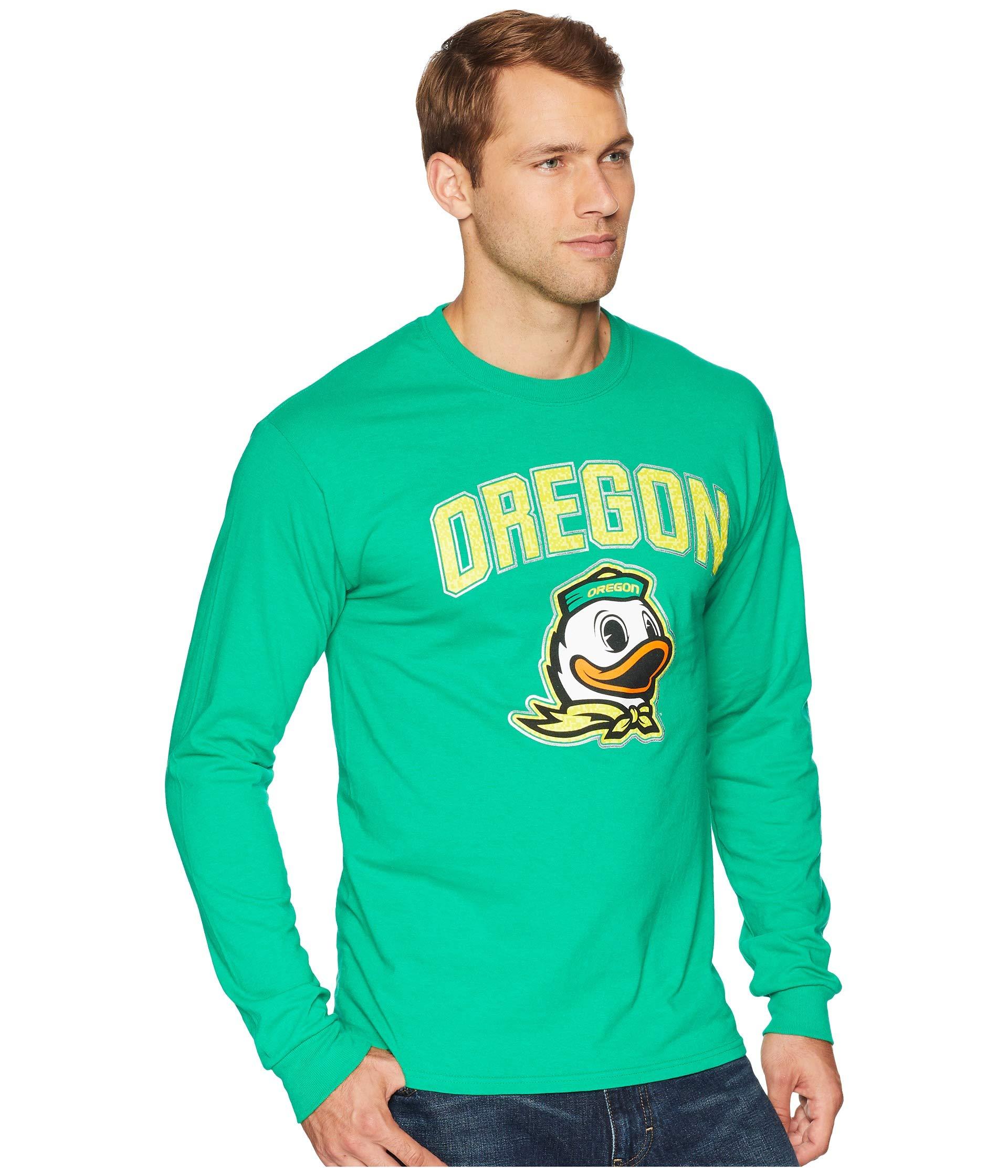 Champion College Green Sleeve Kelly Jersey Ducks Tee Oregon Long qBrxwqFS