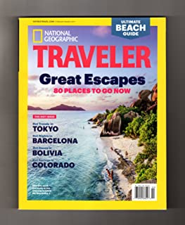 National Geographic Traveler - February-March 2017. The Hot Issue: Tokyo Hot Trends; Barcelona Hot Nights; Bolivia Hot Sauces; Colorado Hot Springs; Black Rock (Desert) City Burning Man (Nevada)