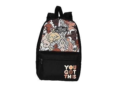 Vans BCA Calico Backpack (Breast Cancer/Girl Gang) Backpack Bags