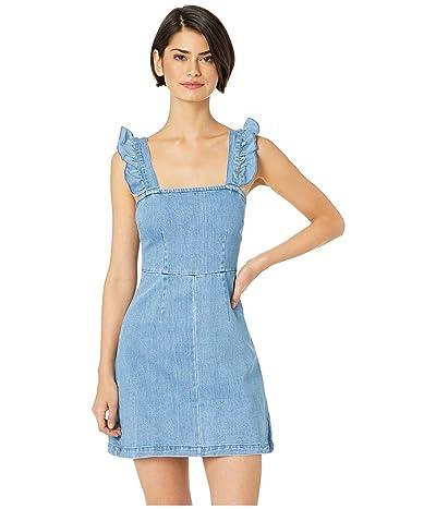 Show Me Your Mumu Ruthie Ruffle Dress (Amalfi Blue) Women
