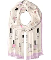 Kate Spade New York - Nail Polish Oblong Scarf