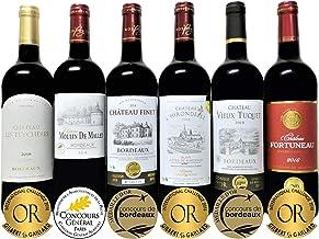 ALL金賞受賞赤ワイン セレクション6本セット ソムリエ厳選 フランスボルドー産 750ml×6本