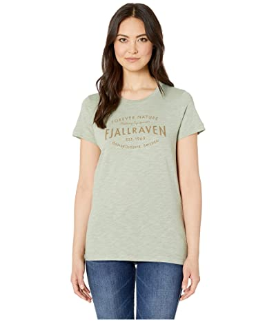 Fjallraven Est. 1960 T-Shirt (Sage Green) Women