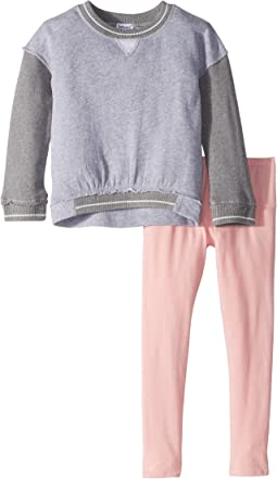 Splendid Littles - Two-Tone French Terry Top Set (Little Kids)