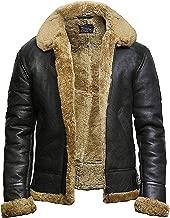raf sheepskin leather flying jacket